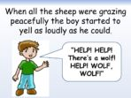 Boy Who Cried Wolf – Being Honest