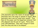 Making A Mind Map –  Report Writing – Ancient Egypt