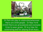 St Patrick and the King