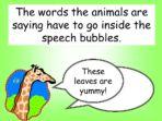 Punctuating Speech 1