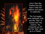 Guy Fawkes & Bonfire Night