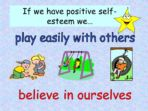 Feelings – Self Esteem