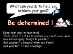 Going for Your Goal