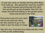 Telling the Easter Story