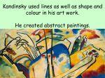 Wassily Kandinsky – Art for KS1 or KS2