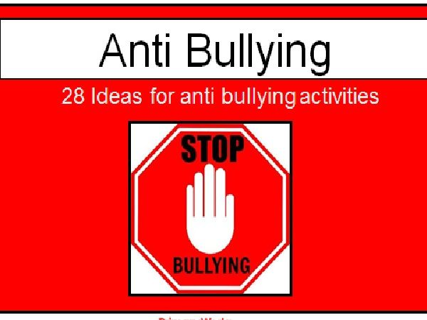Anti Bullying PowerPoint activities for PSHE lesson or assembly for KS1 and  KS2 children , teach anti bullying lesson during anti bullying week in