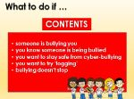 Bullying – What to do if