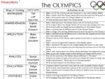 Olympic Games – Pack
