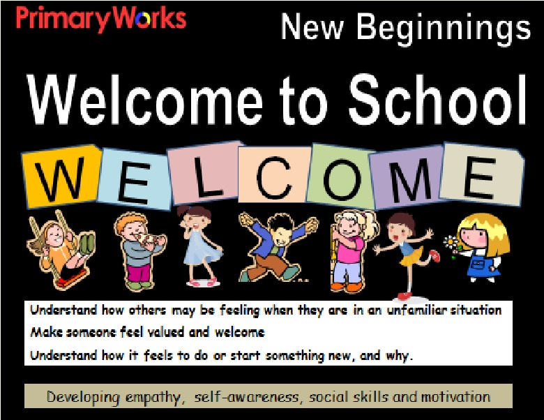 Assemblies for new school year, PowerPoint for new school