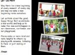 Welcome To School – KS1 & KS2 Assembly