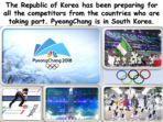Winter Olympics – PyeongChang, South Korea