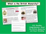 British Monarchy – Reading Comprehension Pack