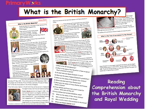 What is the British Monarchy? KS2 Reading Comprehension Updated