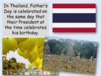 A Day for Fathers