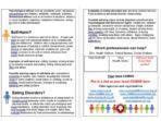 Mental Health First Aid Information Leaflet for Parents