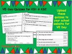 VE Day PowerPoint and Quizzes