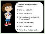 Jewish Family Life – Shabbat