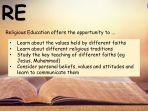 Teaching Values Across the Curriculum