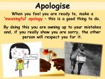 Getting it Wrong and Forgiving